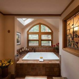 Chiming bells bathtub