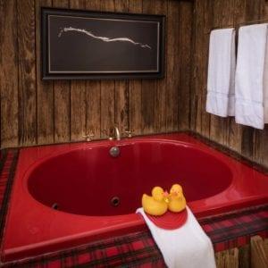Cowboys delight bathtub