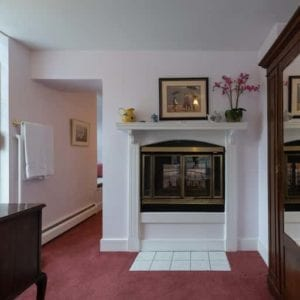 fireplace in Mountain Rose