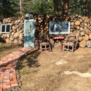 log pile at RiverSong